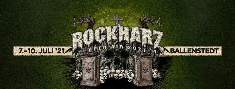 Die Vorfreude auf die 27. Ausgabe des ROCKHARZ FESTIVALS steigt (07.07.-10.07.2021)